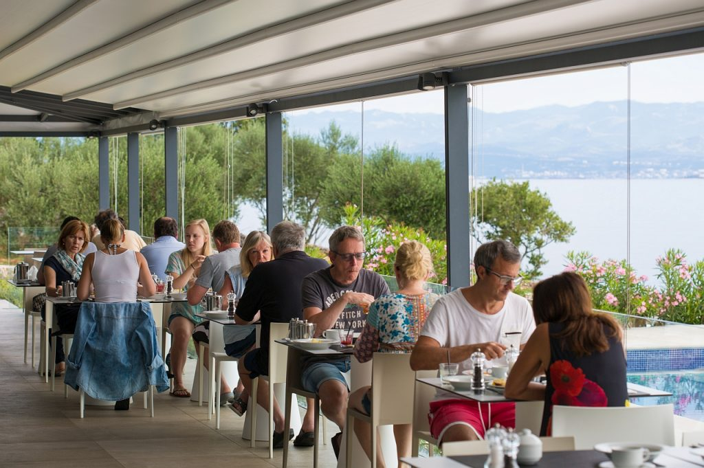 Villa Margaret - Buffet doručak s pogledom na more