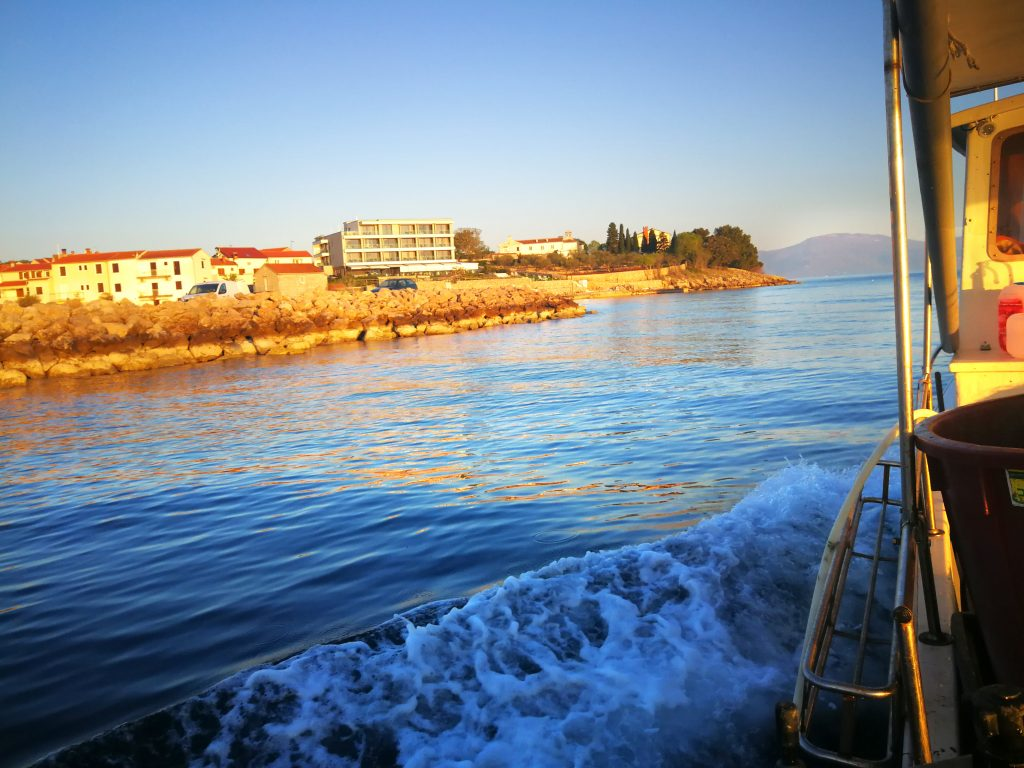 View of Hotel Villa Margaret from the sea