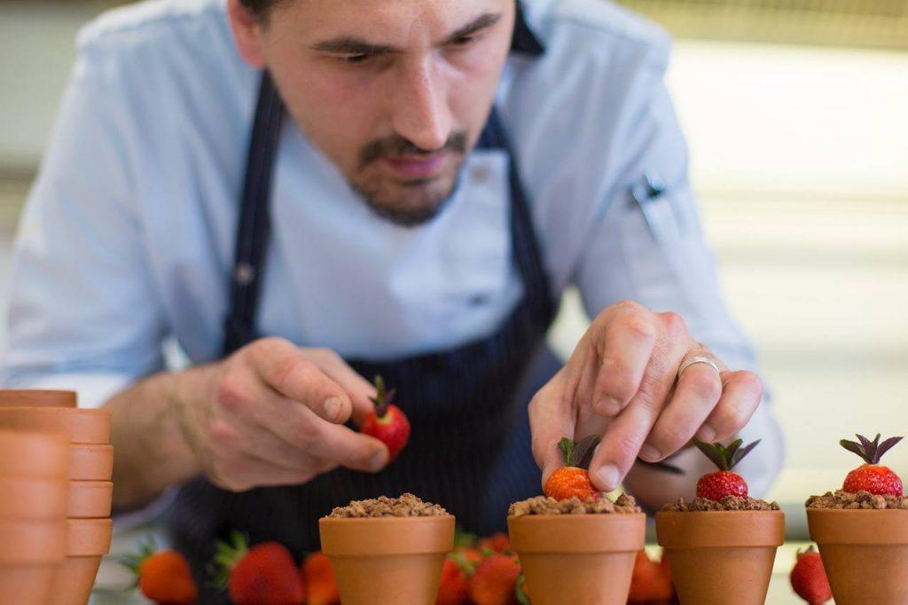 Lončići s jagodama - Gourmet restoran Villa Margaret